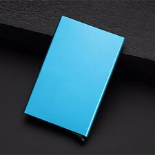 Anti RFID Aluminum Alloy Card Case Protector Credit Card Business Holder Wallet