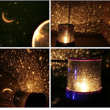 Romantic LED Starry Night Sky Projector Lamp Kids Gift Star Lamp Cosmos Present