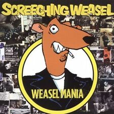 Weasel Mania [PA] by Screeching Weasel (CD, Oct-2005, Fat Wreck Chords)