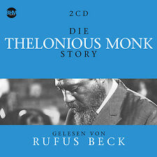 CD Die Thelonious Monk Story Music und Biography 5CDs Audiobook from Rufus Beck