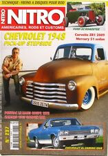 Nitro n°237 - 2009 - Chevrolet pick up stepside - Ford 32 Roadster - Corvette ZR