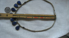Afghan lapis lazuli jewelry beads round small to big