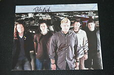 LESS THAN JAKE signed Autogramm  In Person 20x25 cm komplette Band