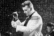 LARGE ORIGINAL MOSAIC PHOTO POSTER IN VARIOUS COLOURS OF SAM SMITH No 4