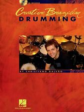 Creative Brazilian Drumming Drum Instruction Book and CD NEW 006620149