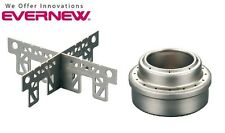 Evernew Titanium Alcohol Stove and Cross Stand Combo - EBY254 & EBY253