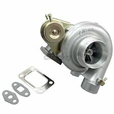 CXRacing T3 T4 8PSI Wastegate V-Band Exhaust Turbo Charger 0.48 AR 0.60 A/R