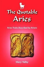 The Quotable Aries: Aries Traits Described by Ariens