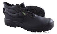 Mens Tuffking Black Chukka Scuff Cap Safety Work Boot 9040 Size UK [6]
