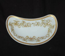 "(1) 3-3/8"" x 6"" Bone Dish Haviland China Limoges France SCH1196"
