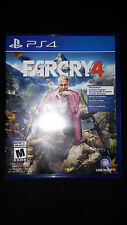 PS4 Far Cry 4 Game BRAND NEW FACTORY SEALED Playstation 4 Farcry