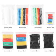 150 Pcs Car Electrical Cable Heat Shrink Tube Tubing Wrap Wire Sleeve Assorted
