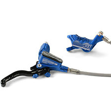 Hope Tech 3 V4 Blue Right / Rear with Braided Hose Brake - Brand New