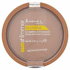 Rimmel Sunshimmer Bronzing Compact Powder - Medium Shimmer