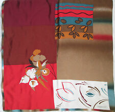 -AUTHENTIQUE Foulard   YVES SAINT LAURENT  100% soie   TBEG  vintage Scarf