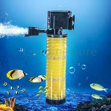1500 L/H Submersible Aquarium Internal Water Pump & Filter Filtration Fish Tank