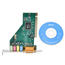 4 Channel 5.1 Surround 3D PCI Sound Audio Card MIDI for PC Windows XP/7/8/10 HU