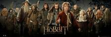 Hobbit An Unexpected Journey : Cast - Midi Poster 91.5cm x 30.5cm (new & sealed)