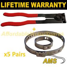 Cv boot pinces paire X5 oreille pince x1 universel adapte toutes les voitures Kit 3.5