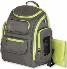 Jeep Everyday Easy Access Perfect Pockets Baby Diaper Bag Backpack Lime NEW