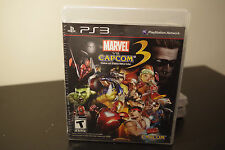 Marvel vs Capcom 3 Fate of Two Worlds (Playstation 3, 2011) *New Factory Sealed
