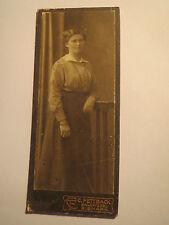 Salzwedel Bismark - Elisabeth Schulze - 1915 - als stehende Frau - Portrait/ CDV