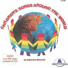 Children's Songs Around the World 2002 by Catherine Slonecki - Ex-library