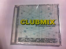 cd audio nuovo incelofanato club mix 24 massive house hits