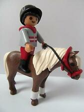 Playmobil Farm/Stables: Boy figure & brown pony NEW