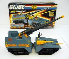 GI JOE COBRA MAGGOT Vintage Action Figure Vehicle COMPLETE w/BOX 1987