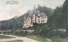 AUSTRIA - Baden - Villa Erzherzog Eugen