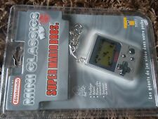 nintendo game & watch mini classics game keychain neuf super mario bros