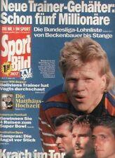 Sport Bild Nr.2/1994: Oliver Kahn , Lothar Matthäus, Pete Sampras usw 12.01.1994