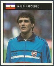 ORBIS 1990 WORLD CUP COLLECTION-#277-YUGOSLAVIA-FARUKH HADZIBEGIC