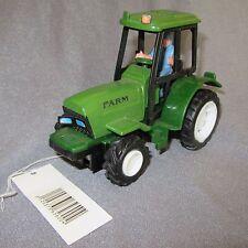 480D Jouet Tracteur Agricole Farm Vert 13,5cm