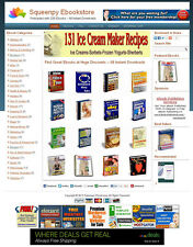 Make Money Online Automated Wordpress EBOOK STORE Online eStore + 200 Ebooks