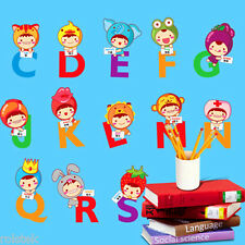 "Clearance---Wall Sticker ""Alphabet"" Cute Removable Decal Bedroom Decor for Kids"