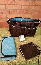 Hygeia Breast Pump Tote - BAG ONLY - Black - Makes A Great Diaper Bag Extra Bag