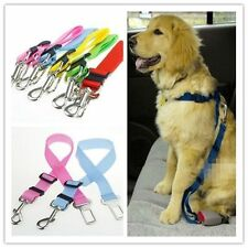 Dog Pet Restraint Lead Adjustable Travel Clip Car Safety Seat Belt Harness