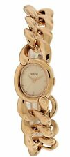 Fossil Curator Rose Gold-Tone Chain Link Ladies Watch ES3459