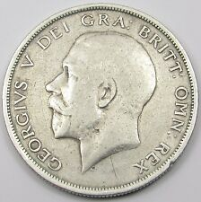 KING GEORGE V  SILVER HALF-CROWN COIN  dated 1915