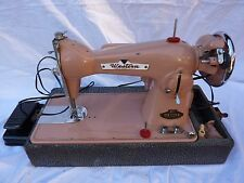 Vintage Western Electric Percision 301 Deluxe Pink Sewing Machine