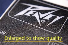 3 Genuine Peavey Loudspeaker Monitor Adhesive Sticker Placard for the Q-Wave 215