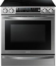 Samsung Slide-In Induction Chef Collection Range Flex Duo Oven - NE58H9970WS NEW
