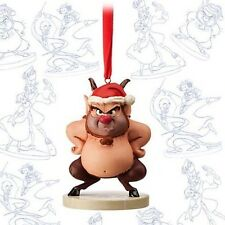 New Disney Store Phil From Hercules Limited Xmas Ornament Sketchbook decoration