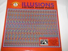 1993 Ceaco Magic Eye Illusions 550 pc Jigsaw Puzzle - Find the Kangaroos