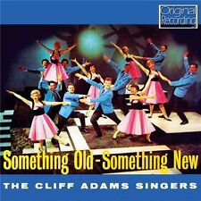 CLIFF ADAMS SINGERS - SOMETHING OLD SOMETHING NEW (NEW SEALED CD) ORIGINAL RECOR