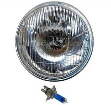 "7"" Stock H4 Motorcycle Headlight Halogen 60/55W Light Bulb Headlamp Fits: Harley"