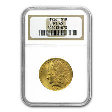 $10 Indian Gold Eagle MS-65 NGC - SKU #72101