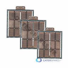DUALIT 2 SLOT SLICE TOASTER COMPLETE ELEMENT SET1 X MIDDLE 2 X END OLD STYLE (3)